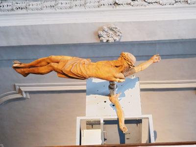 Blasphemous 'Christ Clock' on Display in Catholic Church