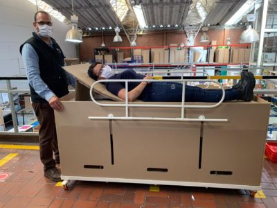 New Hospital Beds Convert into COVID-19 Coffins