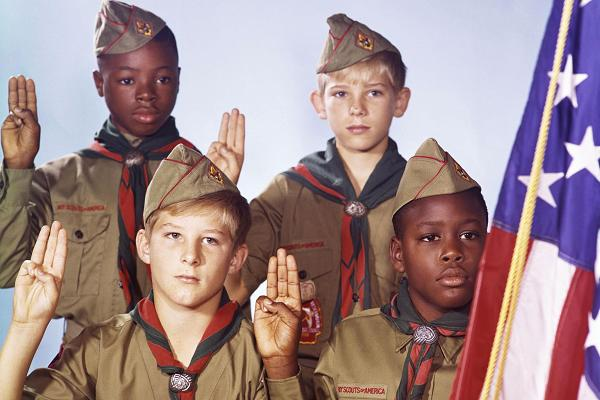 Boy Scouts Drop the Word