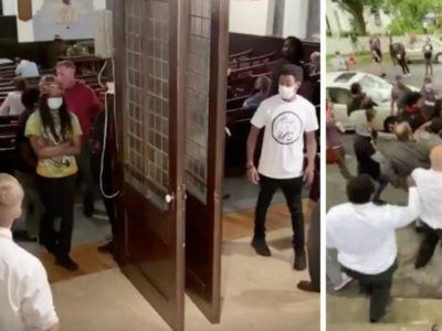 Black Lives Matter Protesters are Now Harassing and Targeting Worshipers as They go to Church