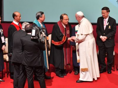Seventh-day Adventists were on a Short List of Churches Authorized to Meet with Pope Francis