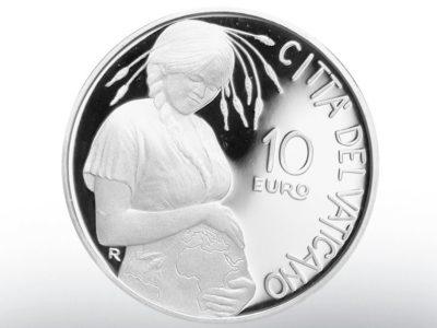 The Vatican Praises the Mother Earth Goddess through a New Silver Coin