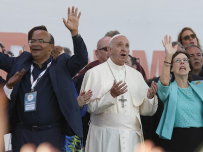 """Protestants met with Pope to receive the """"Spirit"""""""