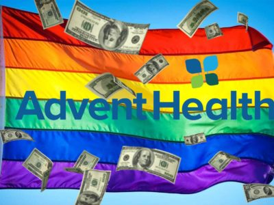 AdventHealth Increased Its Financial Contribution to the LGBT+ Movement Above Their Original $1 Million Dollar Pledge