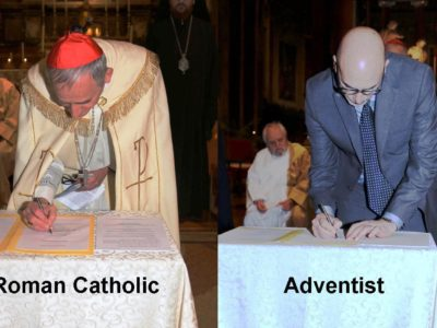 Seventh-day Adventists, Roman Catholics and Evangelicals Sign a Historic 'Ecumenical Charter' that Affirms Faith in 'One, Holy, Catholic Apostolic Church'