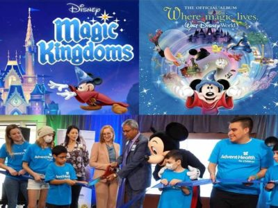 AdventHealth Partners with Disney to 'Extend the Magic' in their Children's Hospital with Interactive Murals, Magic Windows, Magic Portals and Enchanted Art