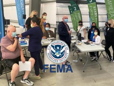 Seventh-day Adventists have Partnered with FEMA and the US Department of Homeland Security to Organize 'Mass' Vaccination Events