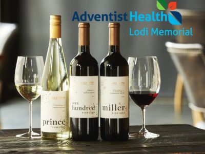 Adventist Health has Partnered with a Winery to Distribute 800 Bottles of Fermented Wine to Local Nurses