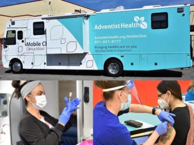 Adventist Health Rolls Out its New Vaccine on Wheels Program to Bring You Your Covid-19 Injection