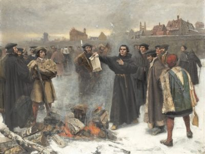 January 3, 2021 Marks the 500th Anniversary of the Excommunication of Martin Luther and his Supporters