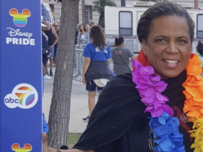 Oakwood University Alumni Association President Wears the Rainbow Colors During Aids March/LGBT+ Event