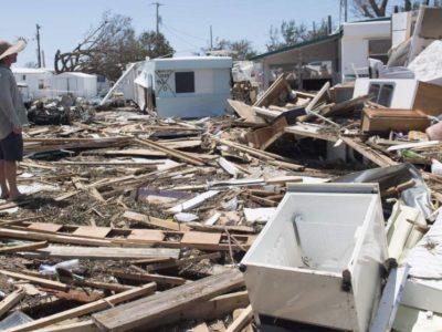 Hurricane Irma Leaves People Living Like Savages