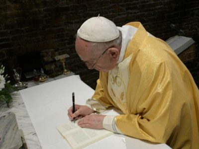 "Pope Francis will Sign his Next Encyclical Entitled ""All Brothers"" on October 3, 2020"