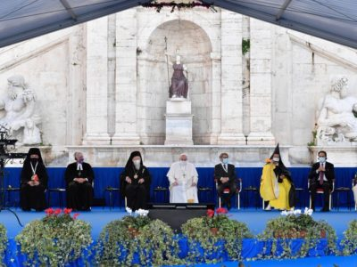 Wondering After the Beast: Pope Signs Peace Pledge with the Major World Religions