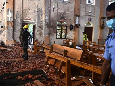 Another Day and Another Church-Bombing Massacre