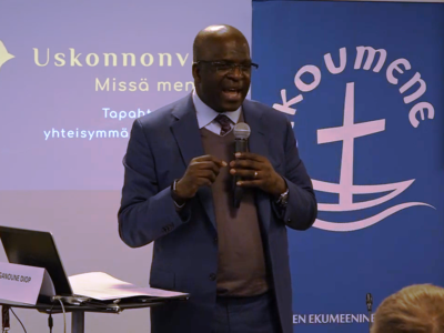 Ecumenical Encounters Part #1 – Ganoune Diop Jokes about Persecution