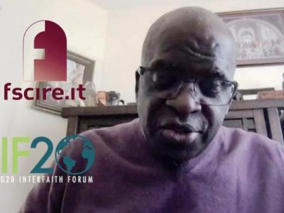 Ganoune Diop Chairs a Webinar Co-sponsored by the G20 Interfaith Forum and the Pope John XXIII Foundation for Religious Sciences