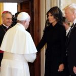 Melania Trump shows her allegiance to Rome