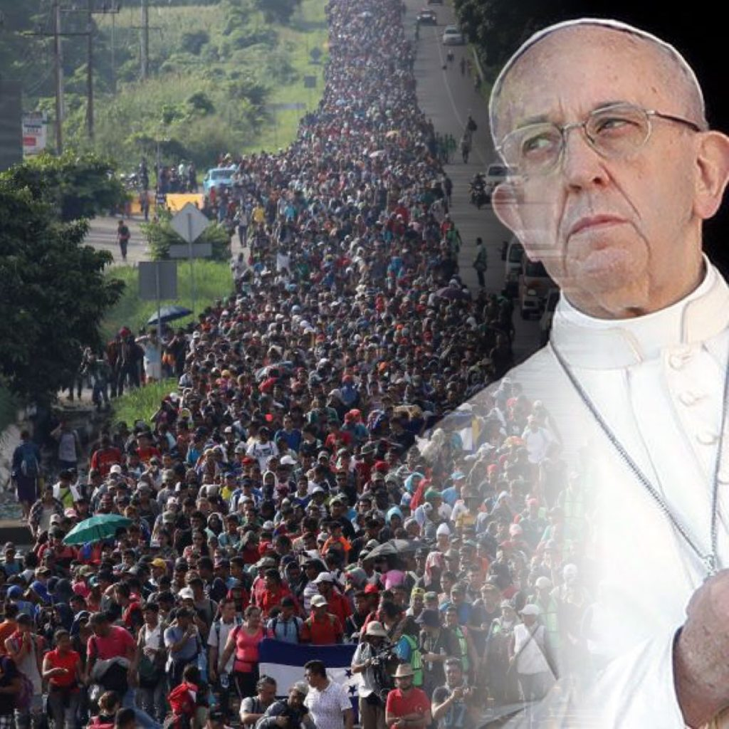 Migrant Caravan or Invading Papal Army?   Advent Messenger