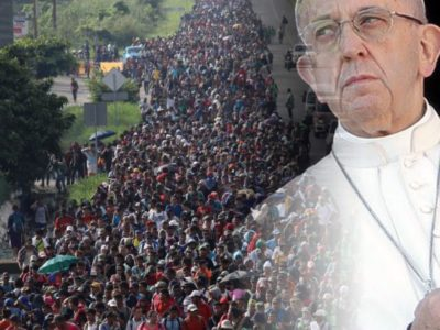 Migrant Caravan or Invading Papal Army?