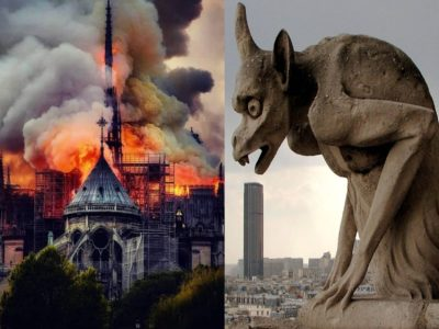 The Notre Dame Cathedral Burns and the Whole World Mourns
