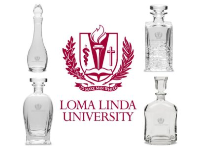 Loma Linda University is Selling Whiskey Decanters for your Favorite Brand of Alcohol