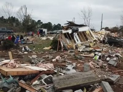 500 Tornadoes in 30 Days have Turned Parts of the US into War Zones