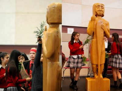Catholic School Kids Venerate An Indigenous Idol During Interfaith Worship