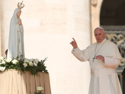 Pope Describes Mary as the World's Biggest Influence