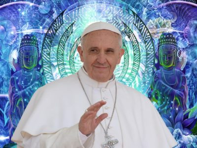 """Pope Francis' Pantheistic Exhortation: """"Jesus is in the River, the Trees, the Fish and the Wind"""""""