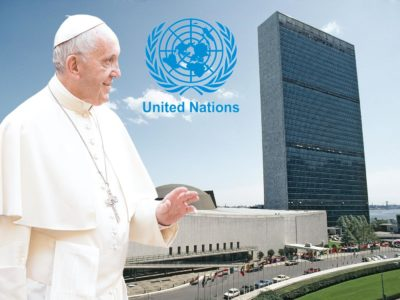 Pope Francis will take his Message on Climate Change to the UN General Assembly