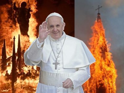 Fratelli Tutti is a Failure as Radicals Set Fire to Catholic Churches in Chile