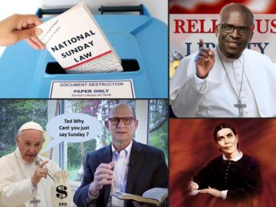 The Roman Catholic Church Speaks out Against the National Sunday Law Book Calling it Anti-Catholic and Tells the Public to Trash It