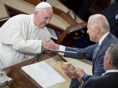 Pope Francis Calls to Congratulate Joe Biden as they Pledge to Work Together on the Climate Change Crisis