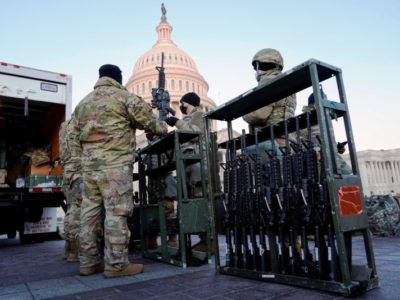 Joe Biden's Inauguration will include 20,000 National Guards, Shoot-to-Kill Orders, a 7-foot Non-scalable Fence and Barbed Wire to Ensure a Peaceful Transition of Power