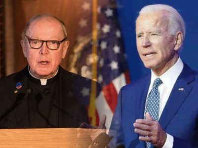 The Jesuits will Welcome Joe Biden During the Presidential Inauguration Ceremony on January 20, 2021 and Offer the Invocation