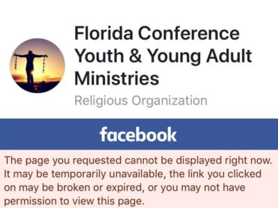 The Florida Conference Removes Its Controversial Video