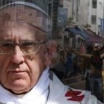 Is Pope Francis responsible for encouraging riots world-wide?