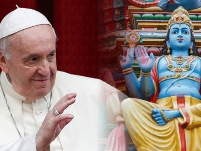 A Prominent Hindu Compares Pope Francis' Encyclical Laudato Si' to the Sacred Hindu Vedic Texts