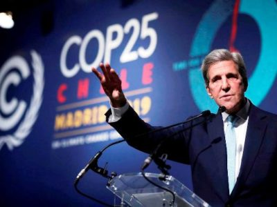 US Climate Envoy John Kerry: The Climate Crisis is a Threat to 'International Security'