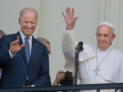 Joe Biden Praises the Holy Father, Laudato Si' and Catholic Social Teaching during an Interview with the Jesuits